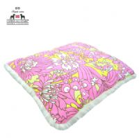 PET BED - AMY BUTLER DAISY CHAIN 'ENCHANTING WILDFLOWERS - ORCHID PINK'